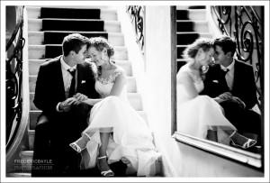 Mariage à la Maison Blanche d'Etienne Brunel : photos des mariés