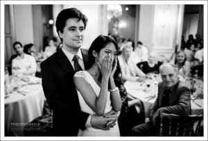 Réception de mariage aux Salons France-Amérique