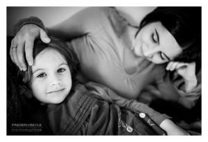 Une maman avec sa fille