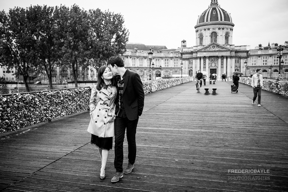 photos de couple chinois à Paris