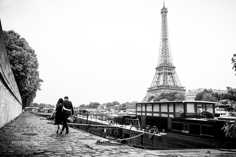 mariage chinois à Paris, photos de couple
