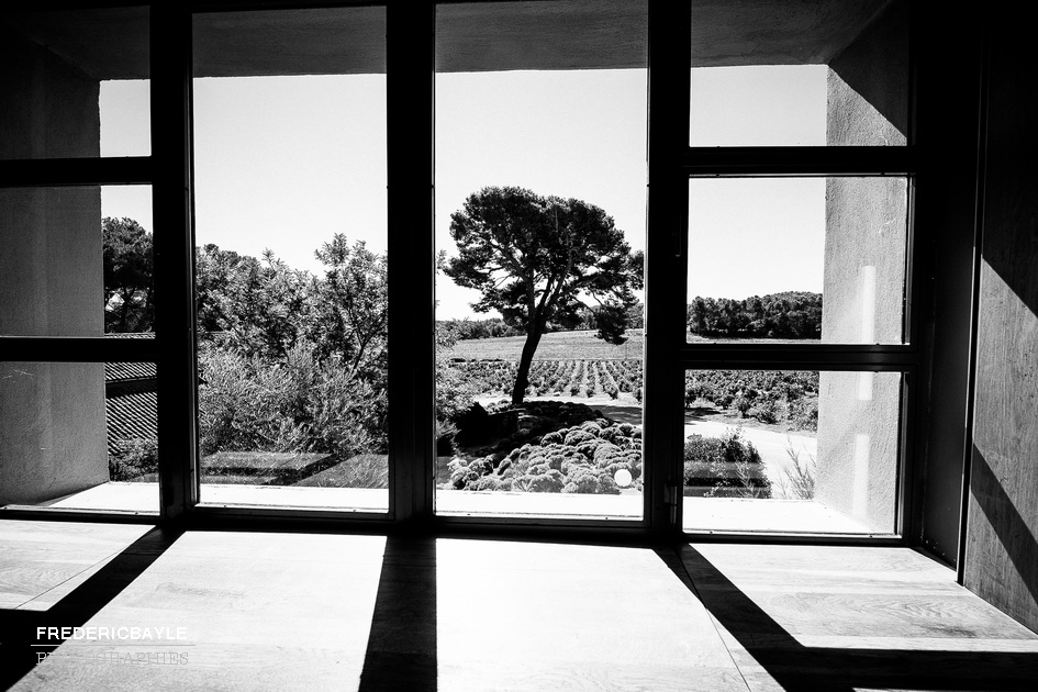 Vue sur le paysage de Provence à partir de La Tour Vaucros