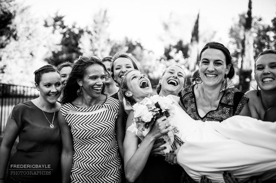 la mariée et ses copines
