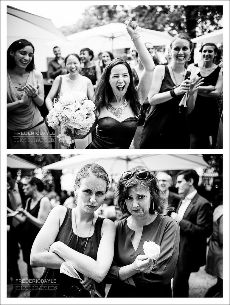 lancé du bouquet de la mariée, Salons FRance-Amérique, Paris
