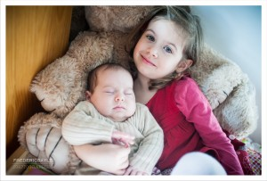 photos de bébé avec sa grande soeur