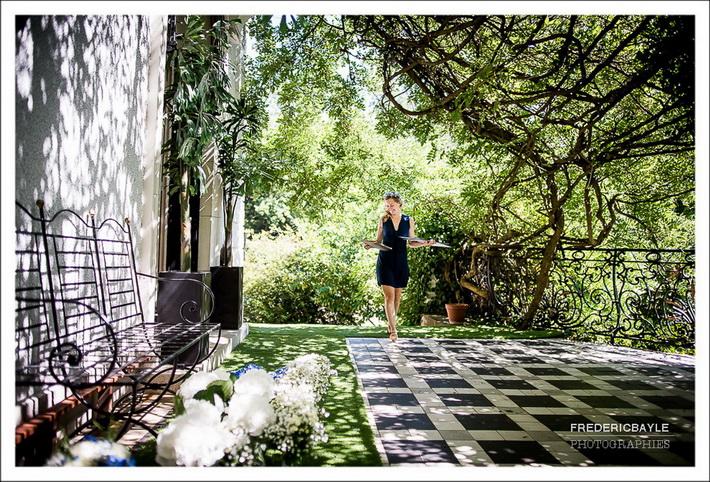 Arrivée de la mariée à la Maison Blanche