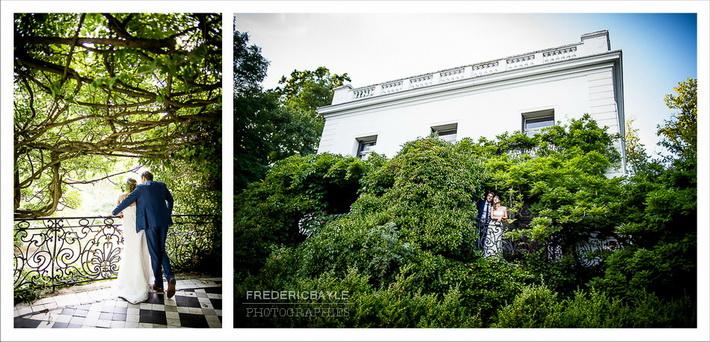 Photos de portrait avec des invités au mariage