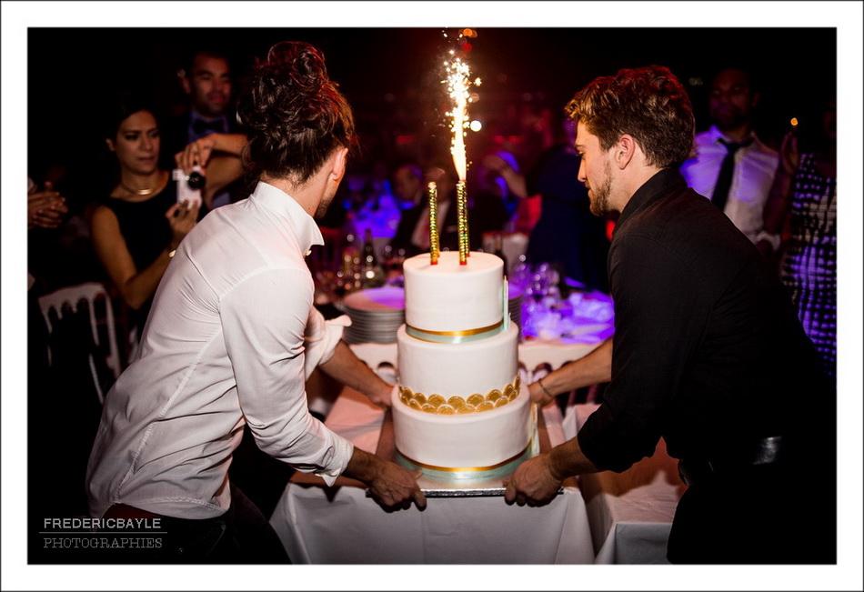 Pièce montée du mariage : wedding cake