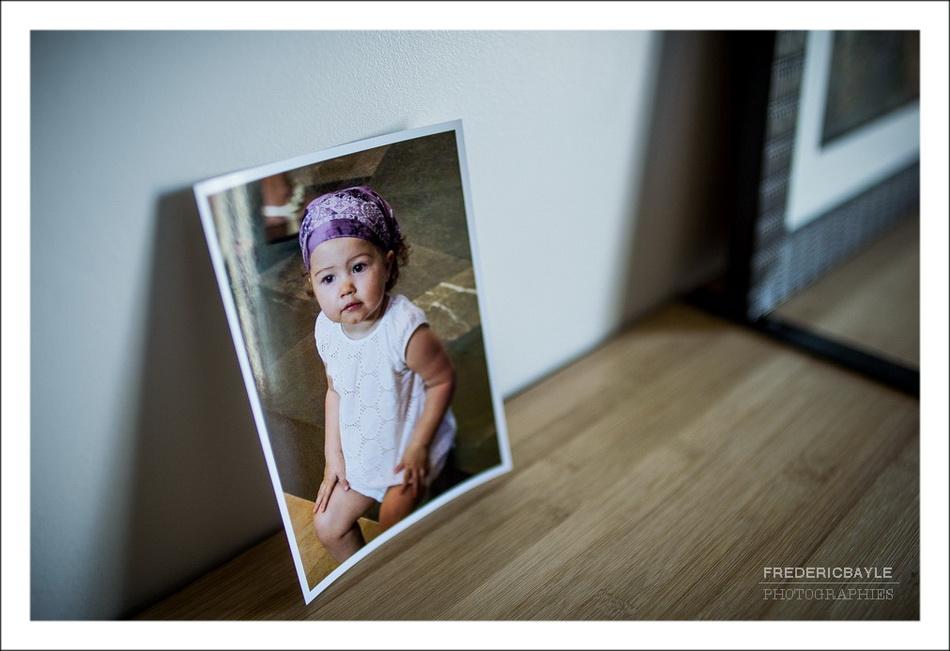 photos de Salomé bébé