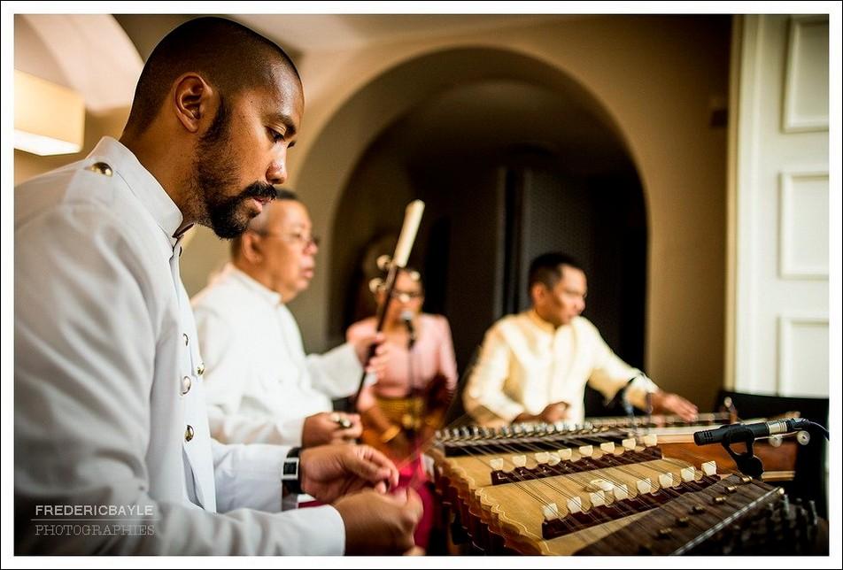 Musiciens pour la cérémonie de mariage