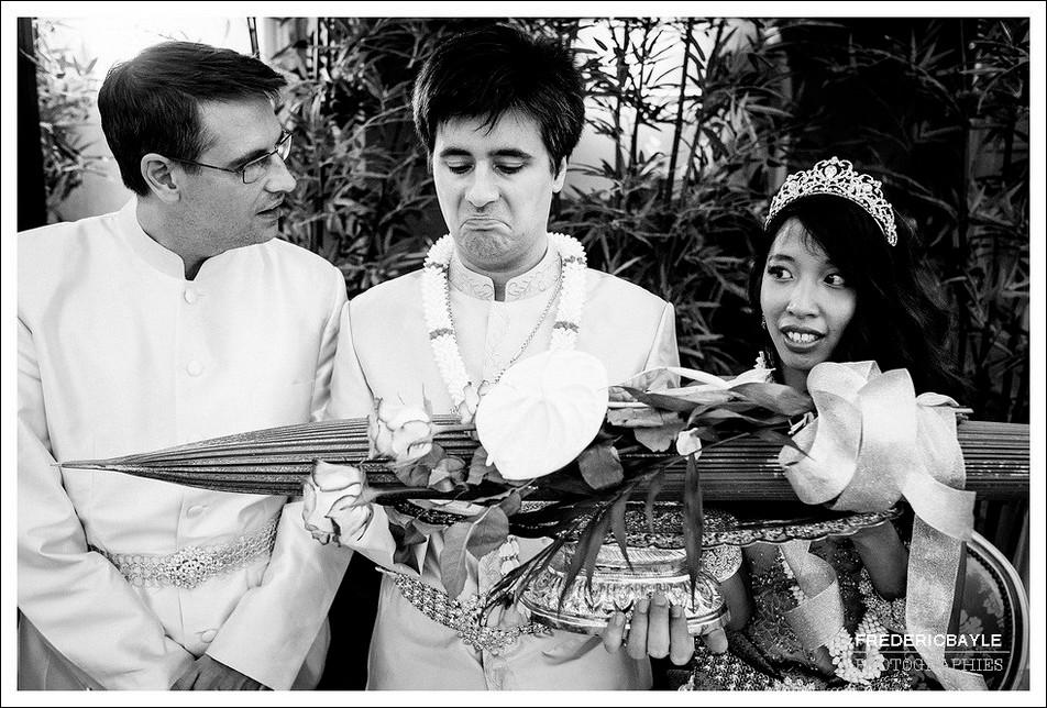 Offrande au marié