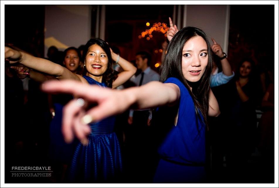 Danse des amis des mariés