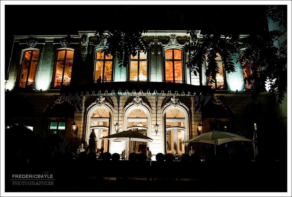 Plan de nuit des Salons France-Amériques à Paris