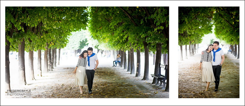 pre-wedding in Paris France