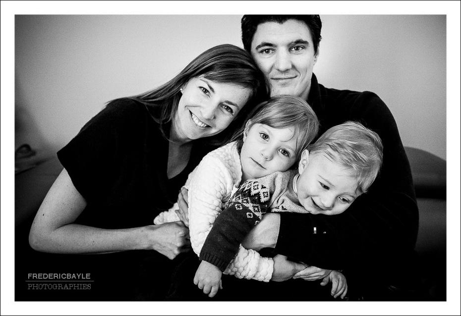 dernière photo du reportage famille, seule photo posée du reportage