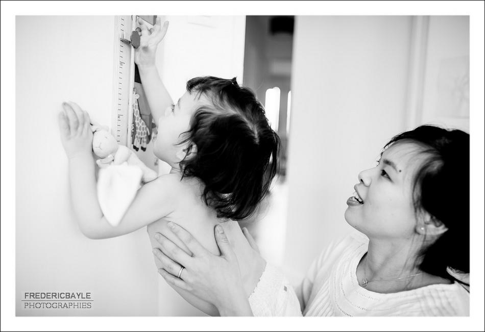 photos de famille, maman avec son enfant