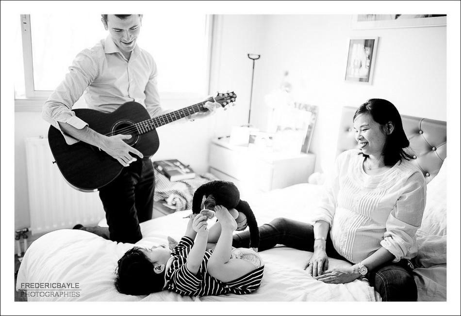 concert musical en famille
