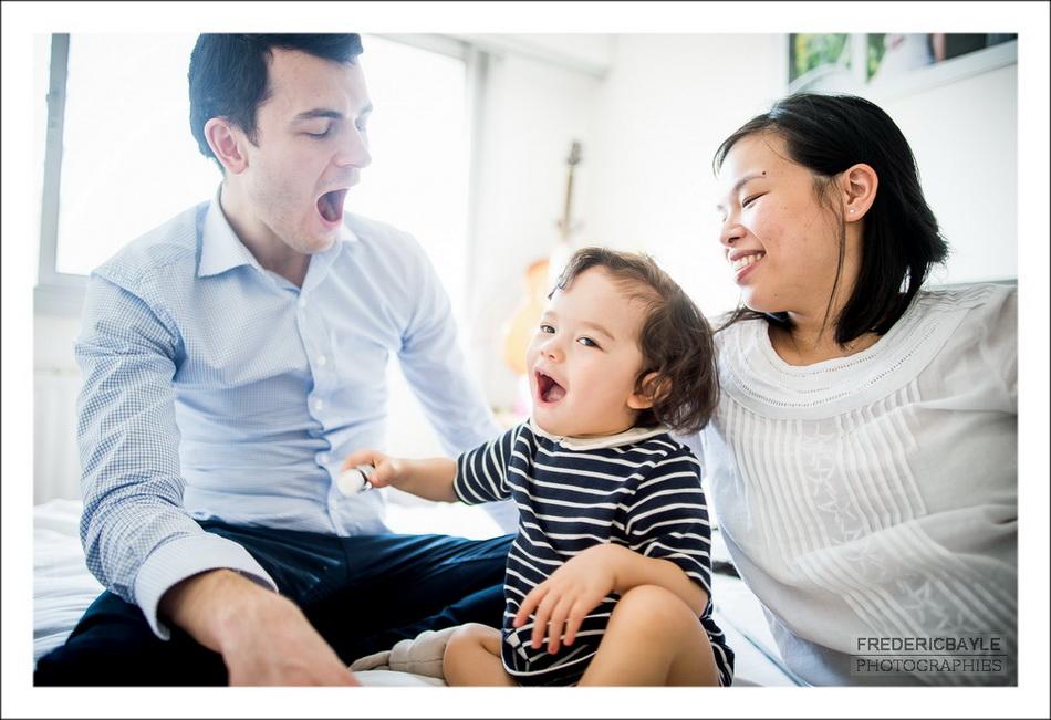 séance de jeu en famille à Paris