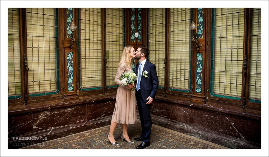 photos de couple à la mairie de Lyon