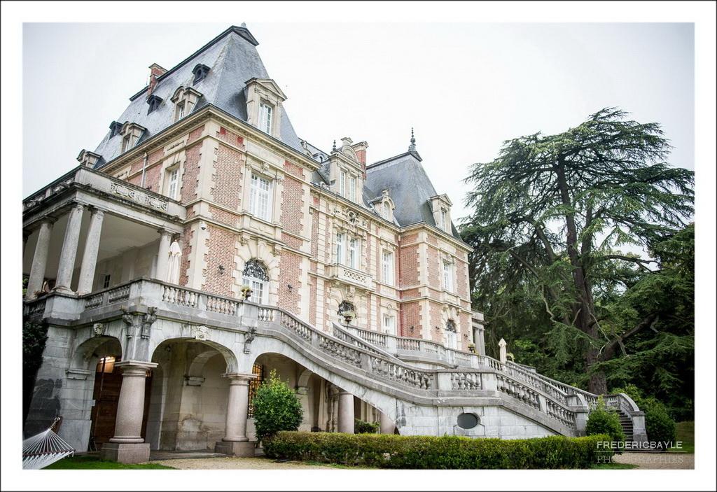 Plan d'ensemble du château de Bouffémont