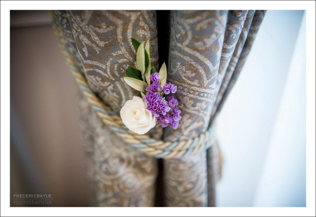 décoration de la chambre de la mariée