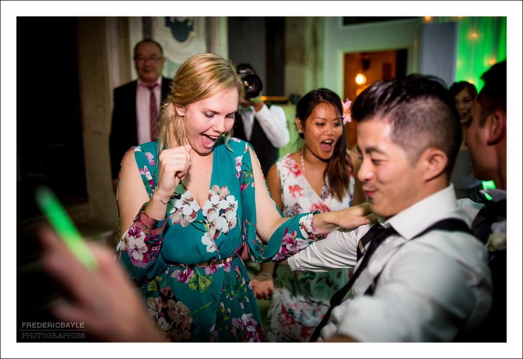 plan général des invités durant la soirée dansante
