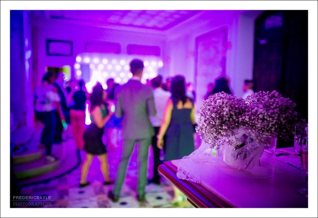plan de fin du reportage photos du mariage