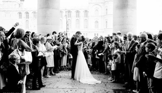 Fin de la cérémonie religieuse, un beau moment de ma prestation mariage
