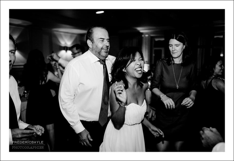 Photos de la soirée de mariage près de Paris