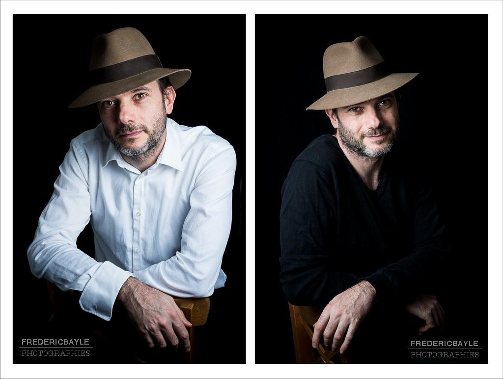 portraits au chapeau pour un rendu plutôt cinéma