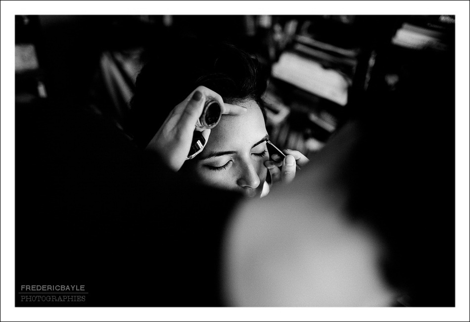 Préparatifs de la mariée : make up