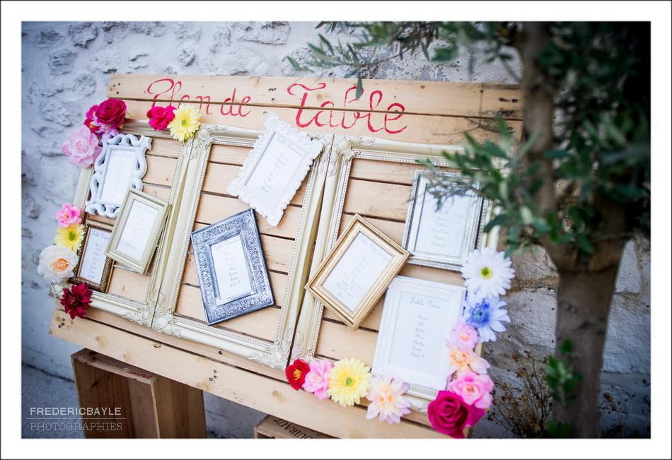 Le plan de table du mariage