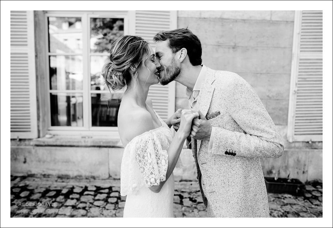 Le baiser des amoureux