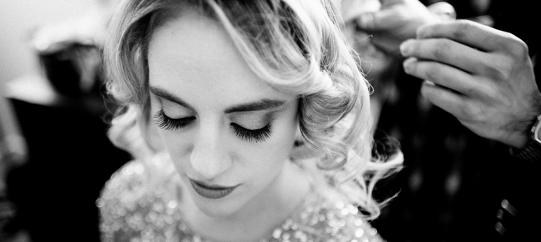 préparatifs de la mariée lors d'un mariage