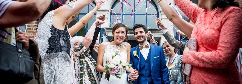 reportage de mariage à la mairie