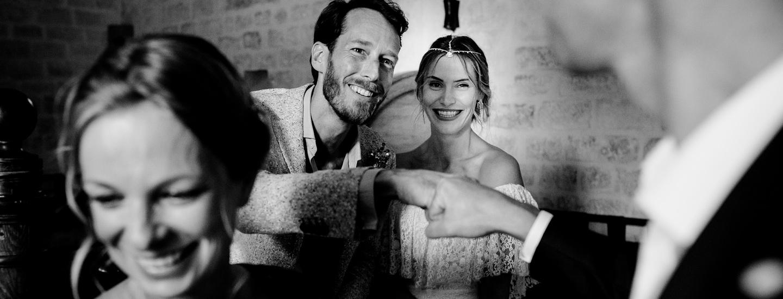 photos des mariés juste avant la cérémonie laïque durant mon reportage mariage