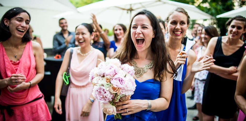 Lancé du bouquet de la mariée : Salons France-Amérique Paris