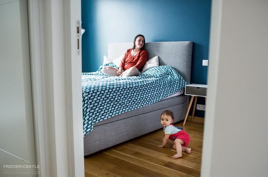 bébé dans la chambre de ses parents