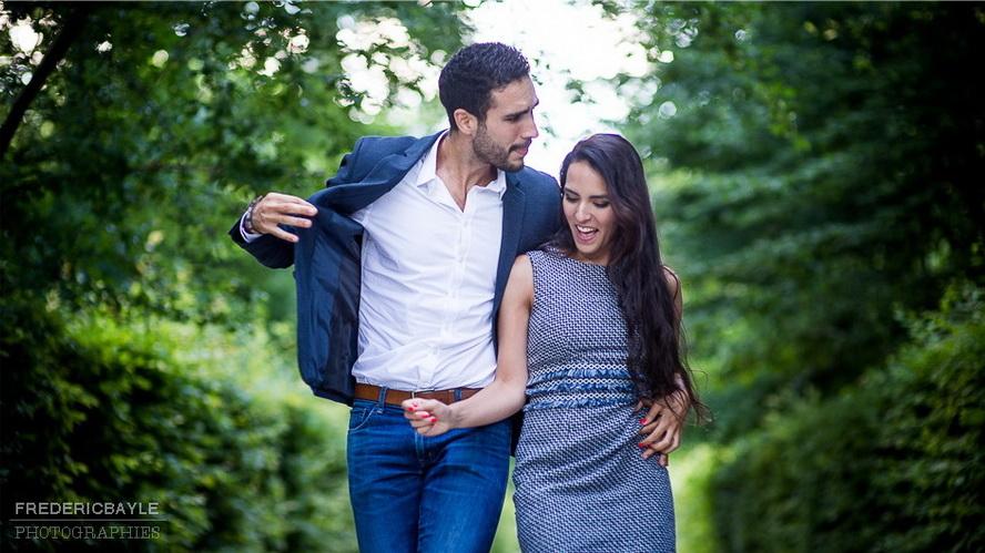 couple dansant dans le Parc du Château de Sceaux