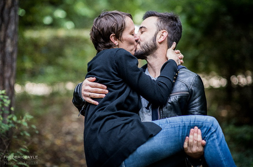 couple d'amoureux avant le mariage