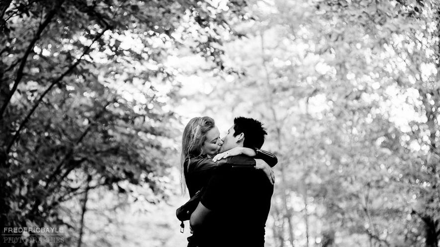 love session près de Paris avec couple d'amoureux