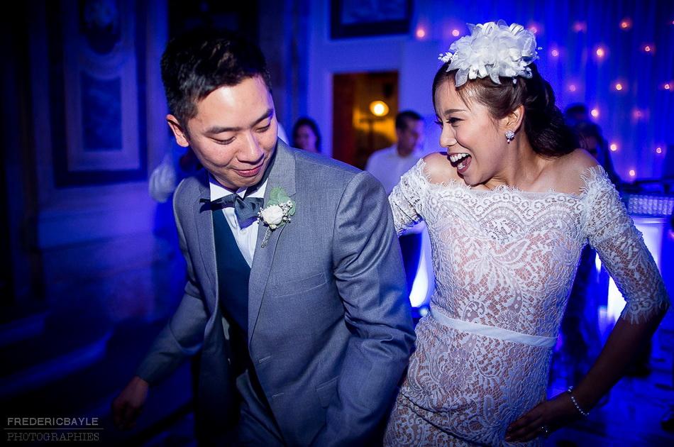 soirée dansante et ouverture du bal par les mariés