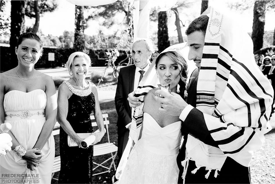 cérémonie religieuse juive en provence