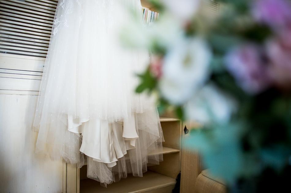 plan de la robe de mariage
