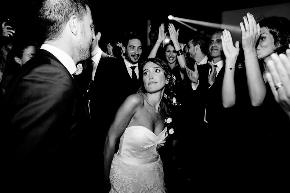 La mariée danse avec son père