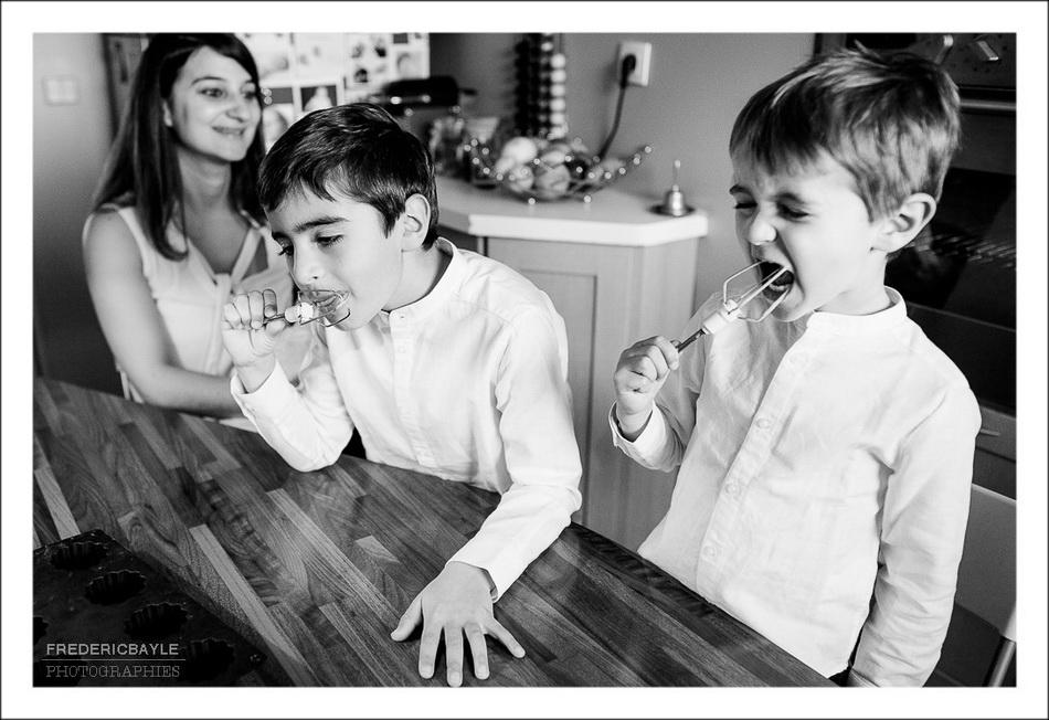 scène en famille marrante