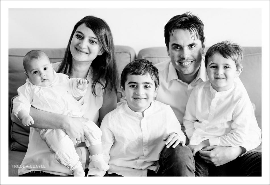 photo de toute la famille